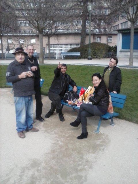 pique-nique au parc Saint-Lambert